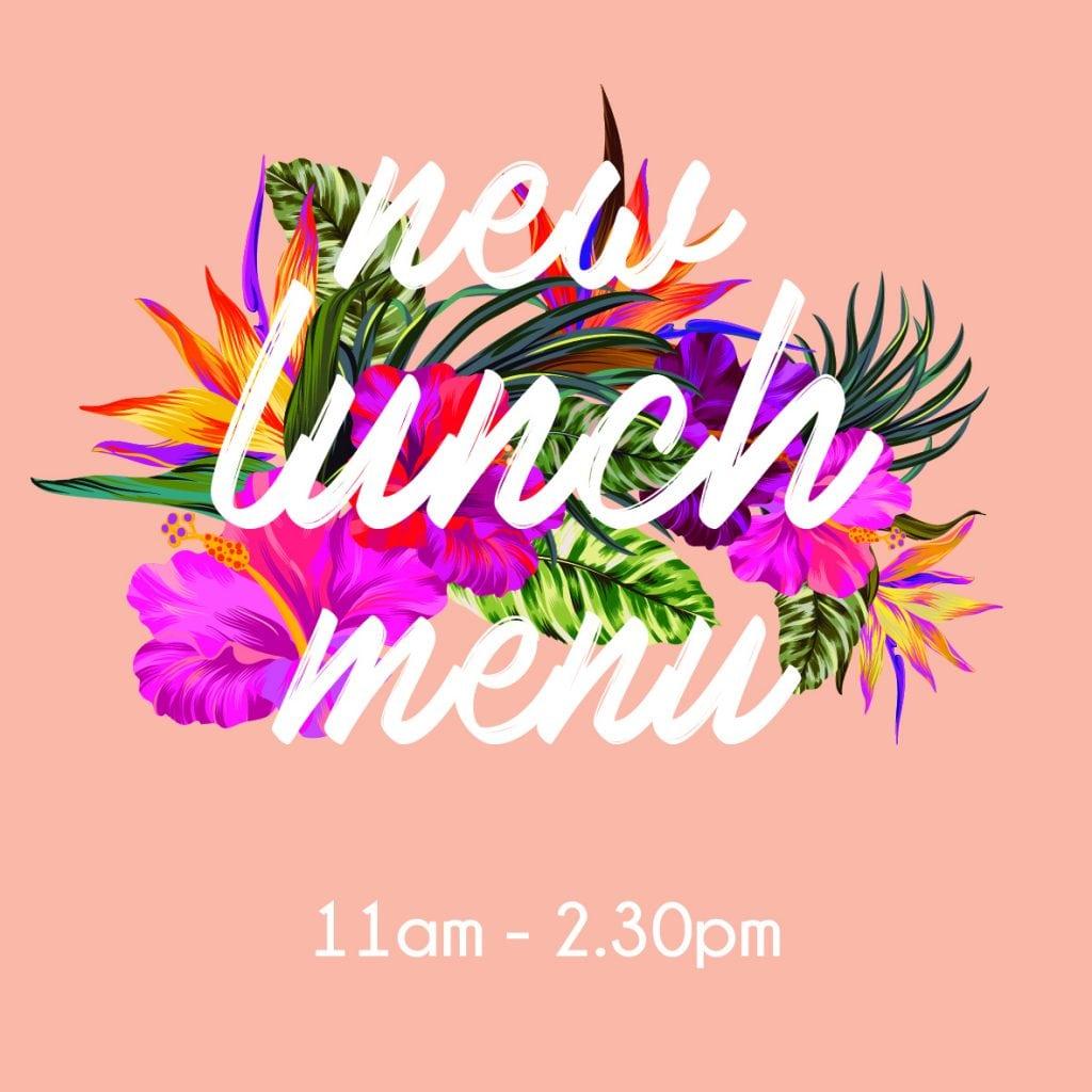 Lunch Menu Special Square