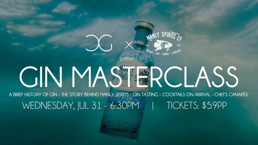 016 Masterclass Manly Spirits
