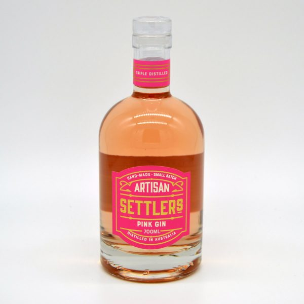 Settlers Pink Gin 1